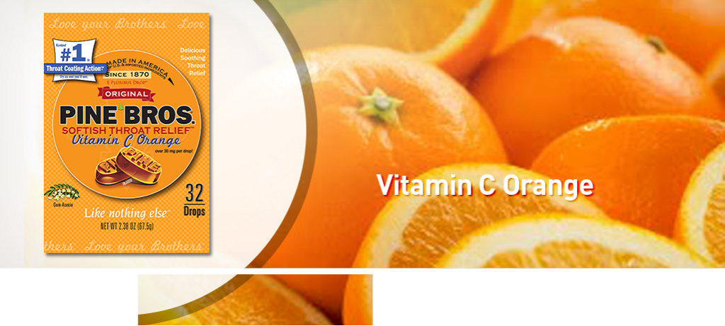Vitamin C Orange Banner